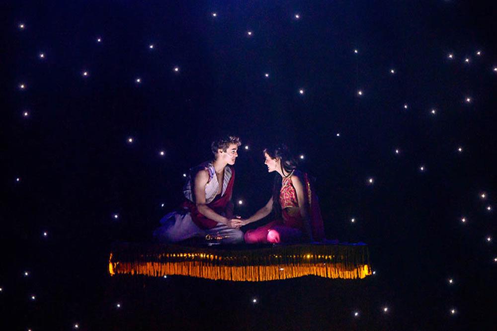 Aladin il musical geniale al Brancaccio di Roma